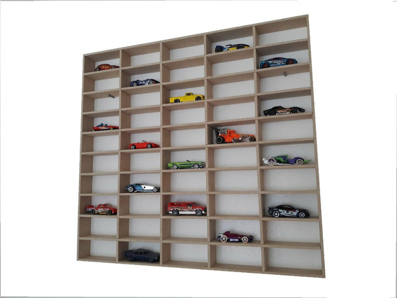 Coleccionador - Exhibidor Hot Wheels-50 Autos-mdf