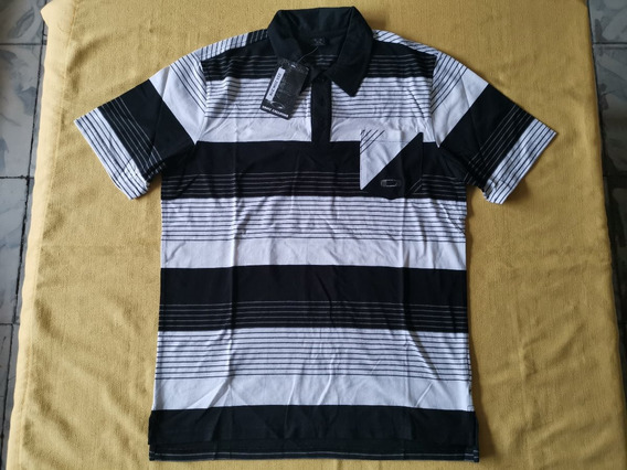 Playera Polo Oakley Go Off Book Polo 432444ovt Talla Mediana