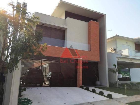 Casa Com 4 Dormitórios À Venda, 280 M² Por R$ 1.750.000,00 - Condomínio Residencial Giverny - Sorocaba/sp - Ca0342