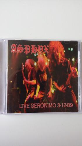 Asphyx - Live Geronimo