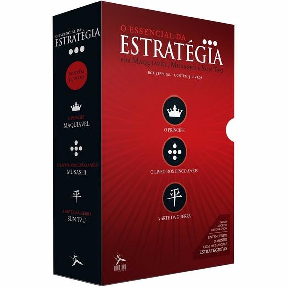 Essencial Da Estratégia 1 Livros Principe Arte Da Guerra