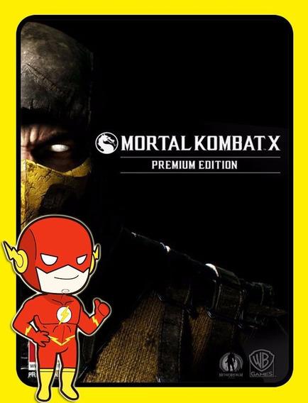Mortal Kombat X Premium Edition Pc - Steam Key (envio Flash)