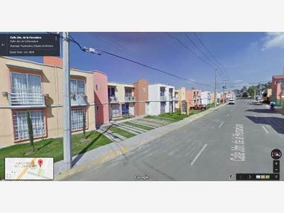 Casa Sola En Venta Santiago Teyahualco