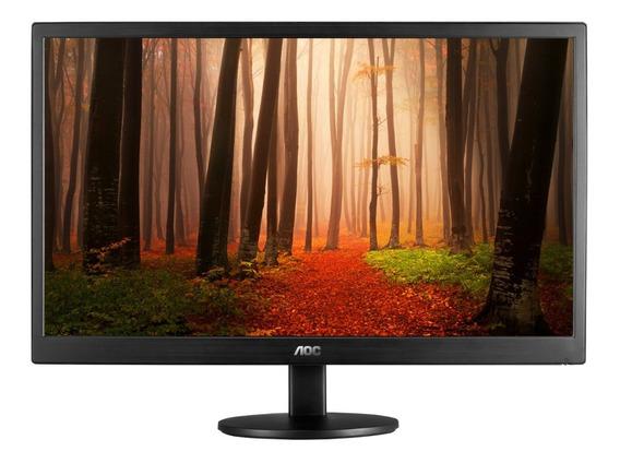 Monitor Led Aoc 15.6 Wide E1670swu-e Pc Oficina Hogar