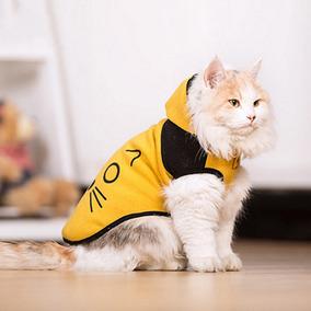 Bonitinho Gato Cão Clothes Dois Tons Miscelânea Pet Traje