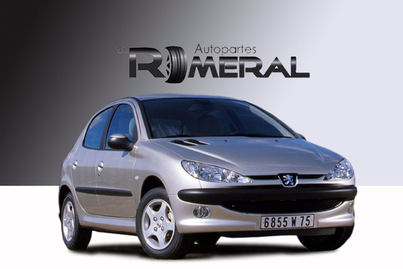 Peugeot 206 2004 Motor Transmisión Autopartes Venta Chocados