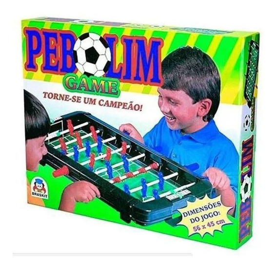 Brinquedo Jogo Infantil Pebolim Game Toto