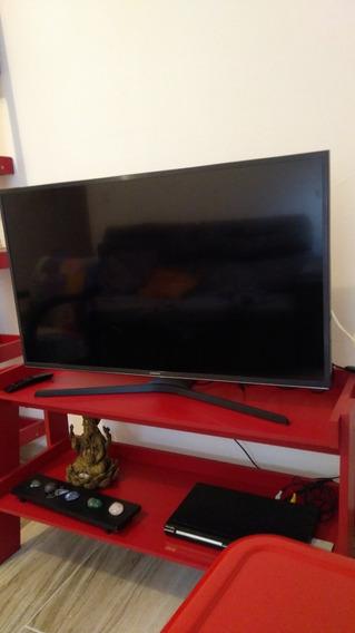 Tv Led Smart Samsung 4k Un40ku6000 Tela Quebrada