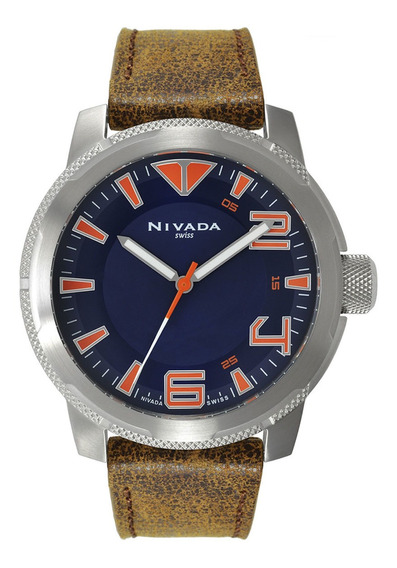 Reloj Suizo Hombre Nivada Np17404macaa ¡¡original!!