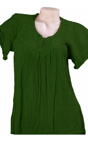 Camisola Blusa Mujer Talle Especial Xxxl Bambula Artesanal