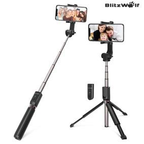 Blitzwolf Bluetooth Extensível Selfie Vara Tripé + Persiana