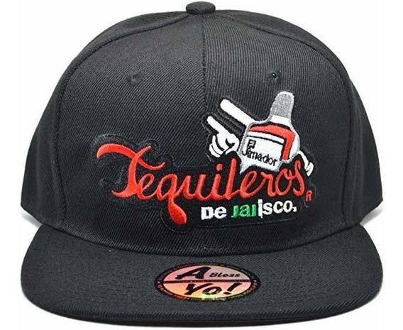 Ablessyo Tequileros De Jalisco Adjustable Flat Snapback Cap