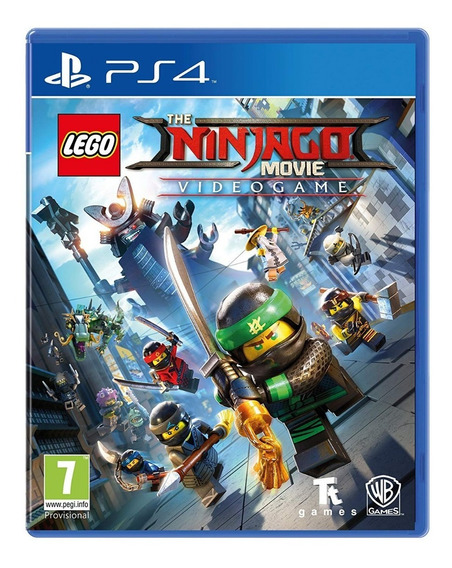 Lego Ninjago - Ps4 Cod 1 Psn Envio Já