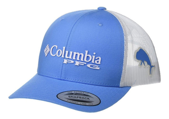 Columbia Mesh Snap Back Gorra Pesca Ajustable
