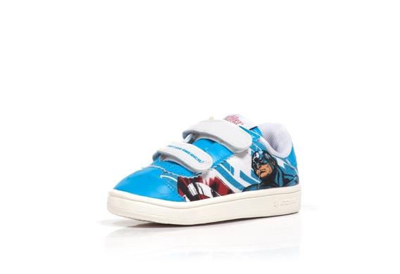 Zapatillas Marvel Atomik Niños Velcro Capitan America