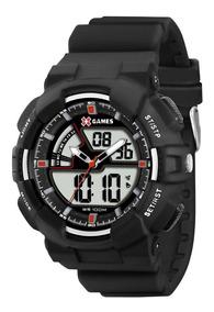 Relógio Masculino Anadigital X-games Esportivo Xmppa139 Bvpx