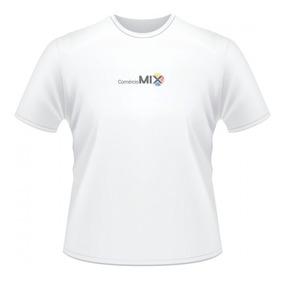 5 Camisetas 100% Poliéster Para Sublimação A Pronta Entrega!