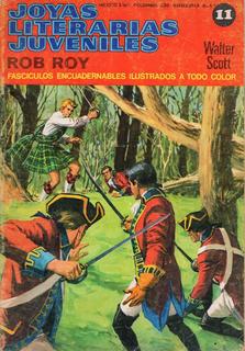 Joyas Literarias Juveniles # 11 - Rob Roy - Walter Scott