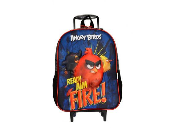 Mochila Infantil Rodinha Angry Birds Santino - Fire
