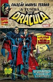Coleção Histórica Marvel Tumba Do Drácula 1a8 E Lobisomem