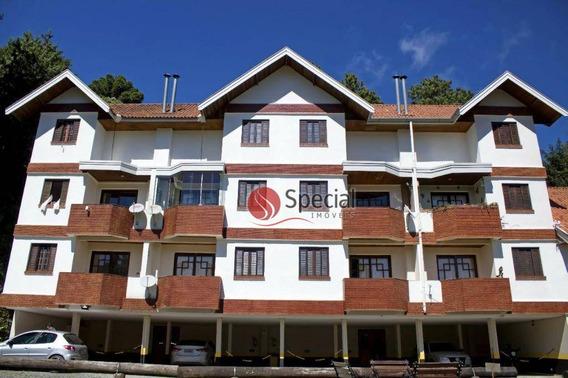 Apartamento Duplex Com 3 Dormitórios À Venda, 88 M² - Floresta Negra - Campos Do Jordão/sp - Ad0054