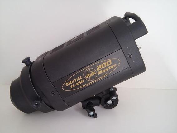 Flash Master Atek Digital 200+refletor Parabólico