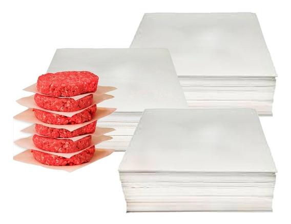 Papel Hambúrguer Vegetal Quadrado 14x14 3kg - 2070 Unidades