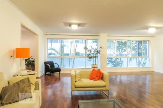 Apartamento No 1º Andar Com 4 Dormitórios E 2 Garagens - Id: 892959332 - 259332
