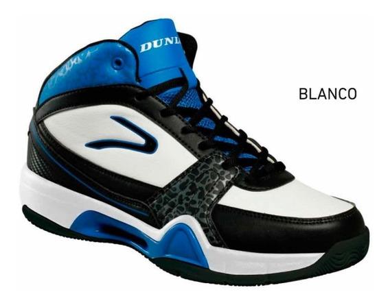Zapatilla Dunlop Pro Hunter Básquet Blanco/azul