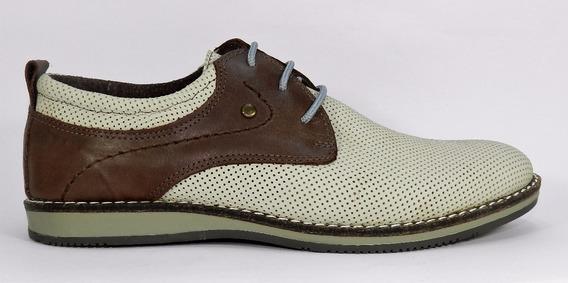 Zapato Free Comfort 6229- 738 Cuero Suela Febo Caucho Cosido