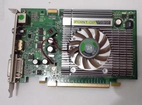 Placa De Vídeo Geforce 8600gt 1gb Gamer Básica - Funcionando