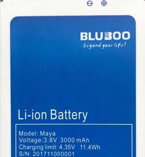 Bateria Bluboo Maya 12x Sem Juros No Cartão De Crédito!!!