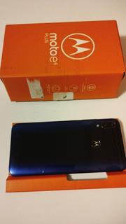 Celular Moto E6 Plus Azul Netuno 64gb Excelente Vitrine 1