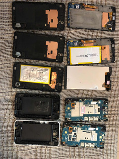 Lote Sucatas Smartphone Sony Xperia E4 E C4 Selfie