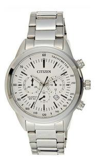 Reloj Citizen Hombre An8150-56a Acero Crono Calendario