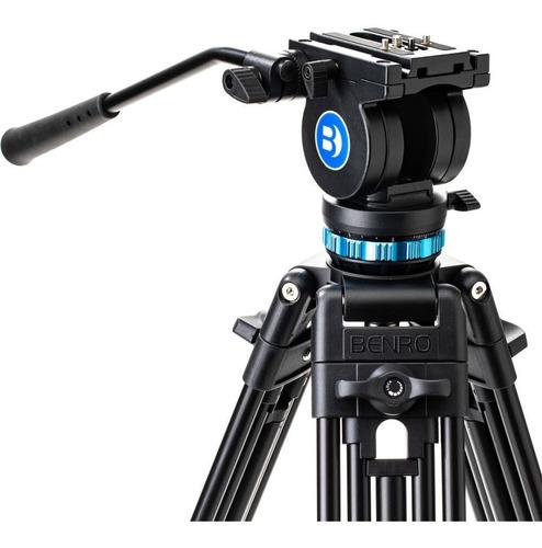 Tripé Benro Video Kh25p 5kg 1,56m Pan C/ Controle De Tensão