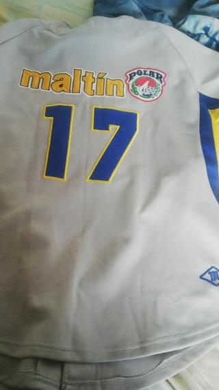 Camisa Original Del Magallanes Casi Nueva