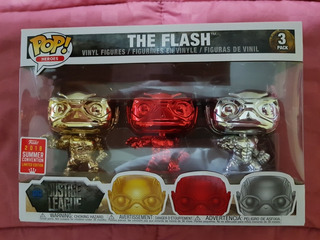The Flash (3 Pack - Gold Chrome) (envío Gratis)
