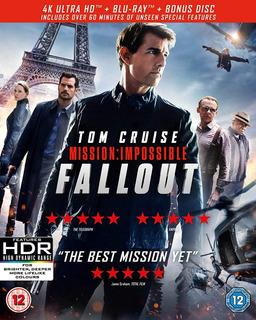 Blu Ray 4k Ultra Hd Missão Impossível - Efeito Fallout - Dub