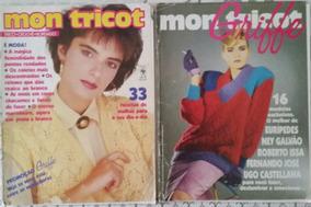 Revista Mon Tricot Com Fascículo Grátis - Março/1986 - Nº 83
