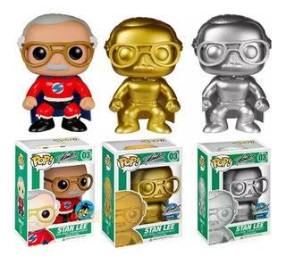 Funko Pop Stan Lee Marvel Cómics Thanos , Avengers