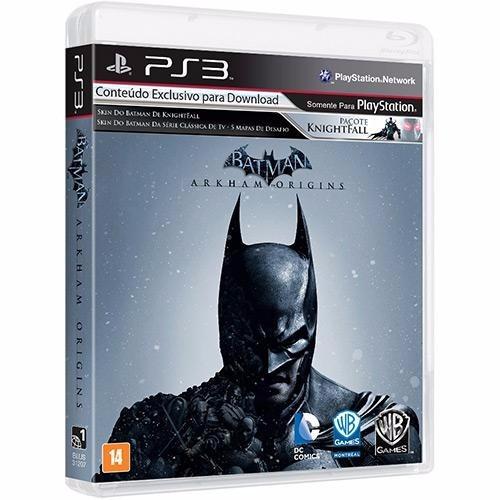 Batman: Arkham Origins - Ps3 Mídia Física