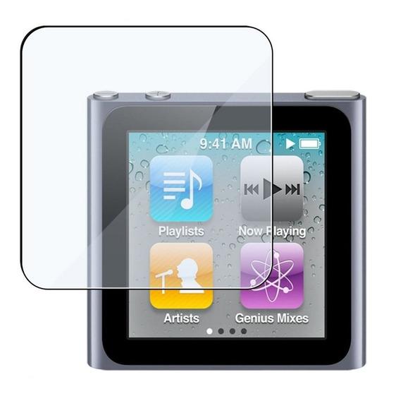 10 Pçs Película Frontal Cristal iPod Nano 6th Atacado
