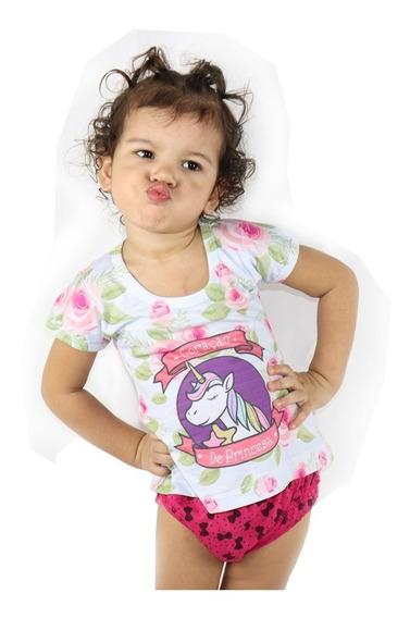 Kit 15 Camiseta Blusa Manga Curta Infantil Revenda Atacado