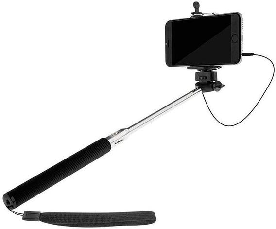 Super Pau De Selfie Kit Stick Selfie Bastão Retrátil Celular