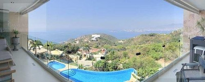 Cad Eliazul 301, Terraza Con Vista Espectacular A La Bahía De Acapulco. Family Room