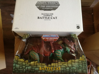 Masters Of The Univers. Battle Cat, Motu, Mattel
