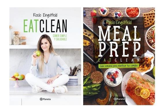 Pack Eatclean + Meal Preap - Rocío Engstfeld (2 Libros)