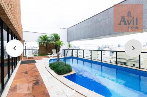 Flat Com 1 Dormitório Para Alugar, 47 M² Por R$ 4.600,00/mês - Moema Pássaros - São Paulo/sp - Fl0003