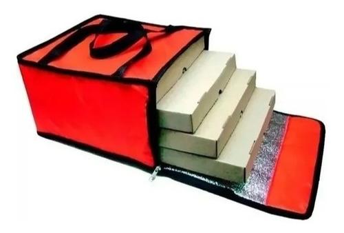 Bolso Termico Delivery 4 Pizzas Cajas - Jm Motos